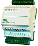 AMJR-14-SM AddMe Lite Modbus RTU 14-point I/O, Freely Programmable