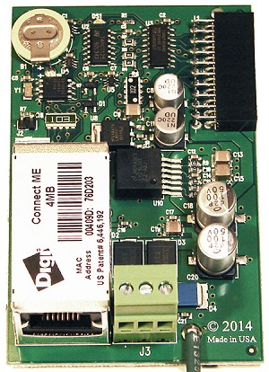 The BAS-7050 processor module features a high powered RISC processor with Ethernet network capability. This brings the entire series of BAS-700 I/O modules to Ethernet and the Internet.